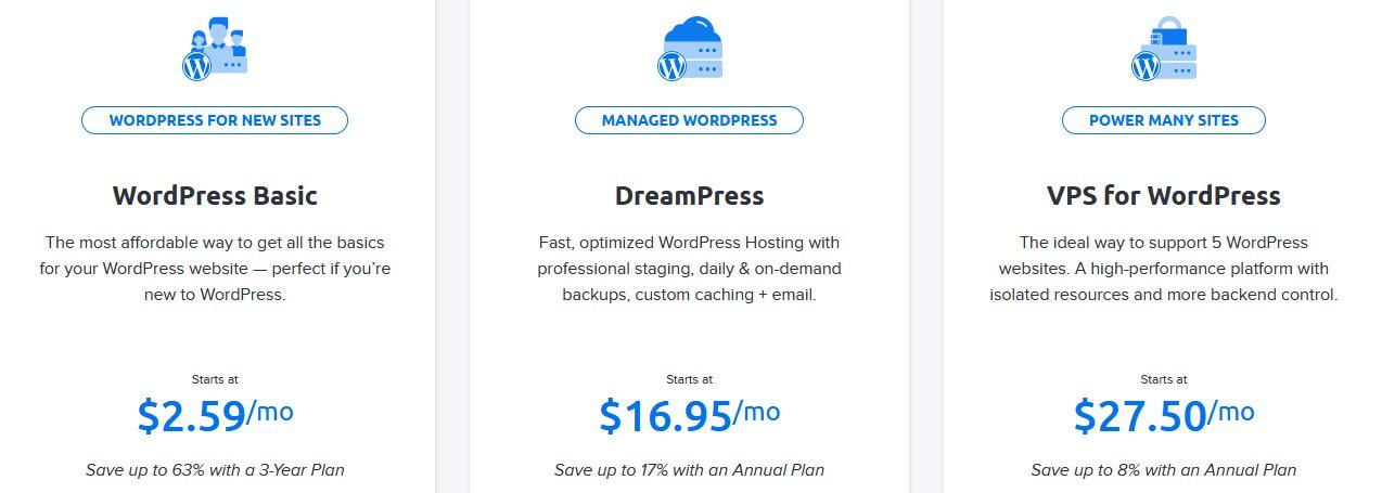 DH WordPress Hosting