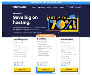 HG Hosting Plans