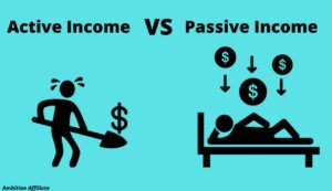 Active income vs Passive income