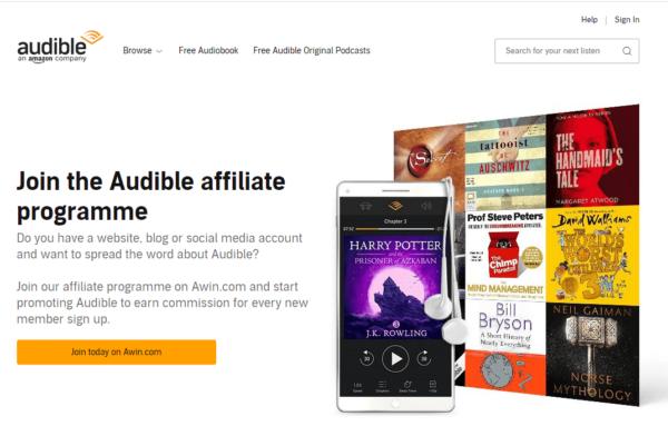 Audible Affiliate Program