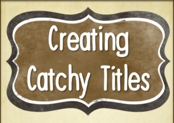 Creating catchy ebooks title