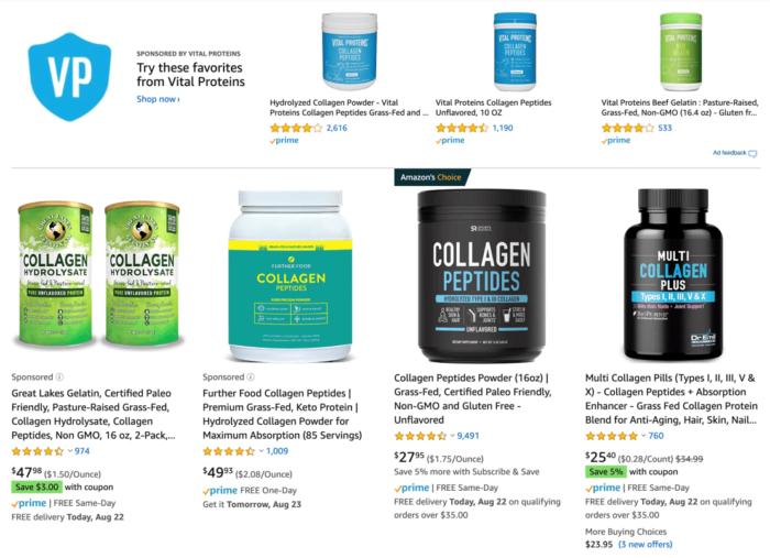 Collagen Protein on Amazon