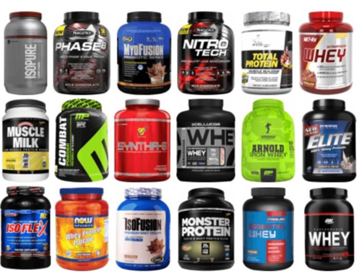 Protein Powder Jars