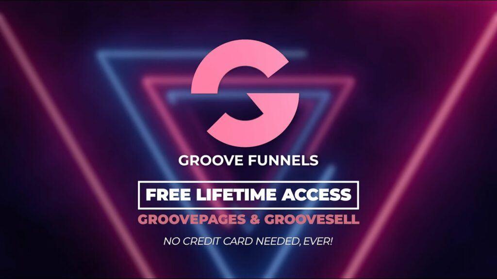 GrooveFunnels Homepage.
