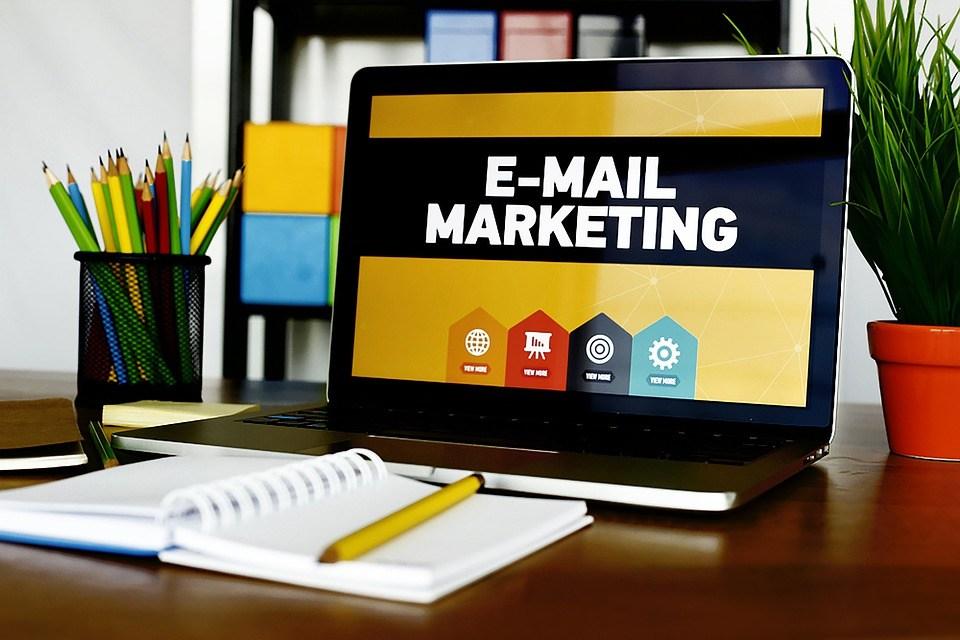 Laptop Email Marketing
